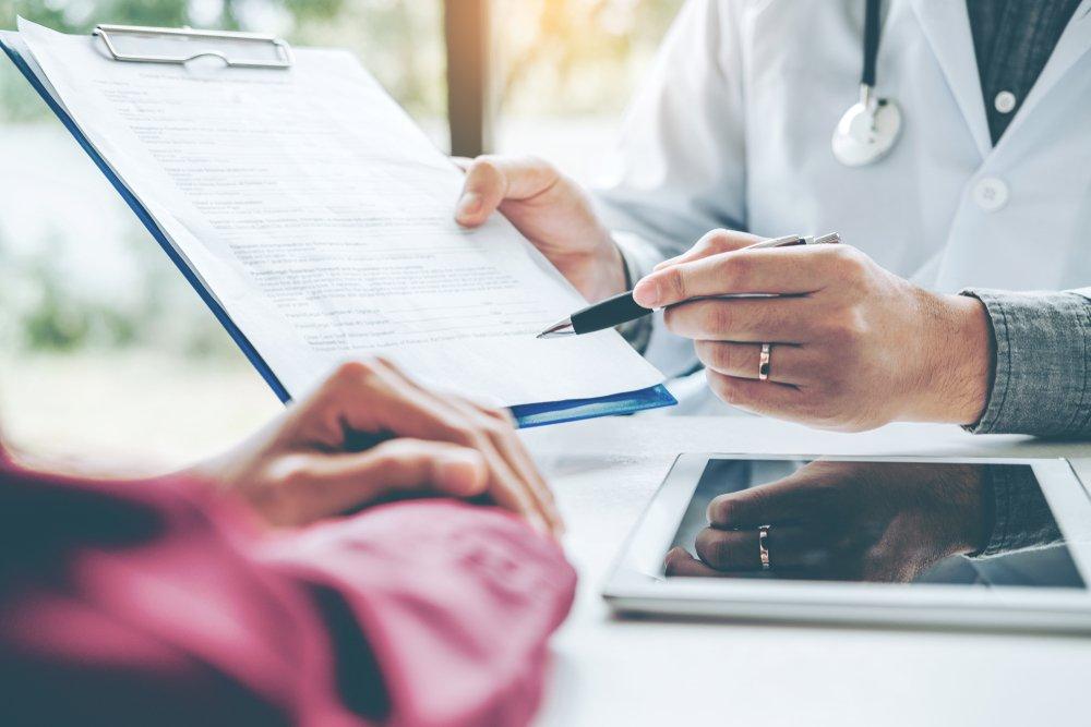 Порядок оформления у врача