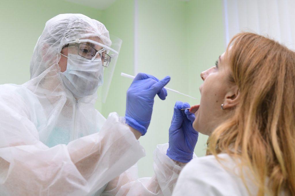 наличие коронавирусной инфекции